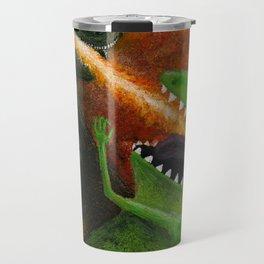 Godzilla vs Reptar Travel Mug