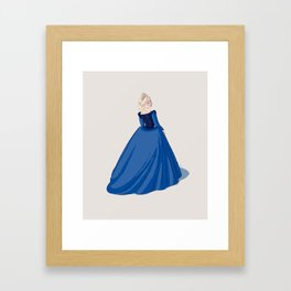 Catherine Paar - sixth and last Henry VIII wife Framed Art Print