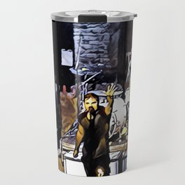 The Drowning Pool - Let The Bodies Hit The Floor Travel Mug
