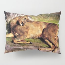 A Roe Deer In The Forest - Digital Remastered Edition Pillow Sham