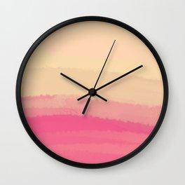 Sea - Line Clolor Pattern V7 Wall Clock