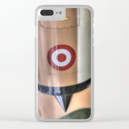 Turkish Air Force Roundel Clear iPhone Case