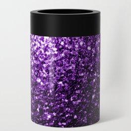 Beautiful Dark Purple glitter sparkles Can Cooler