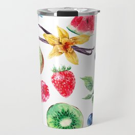 fresh fruits Travel Mug