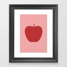Apple 27 Framed Art Print