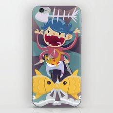 Fish Kid iPhone & iPod Skin