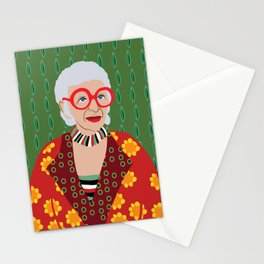 Iris Apfel Stationery Cards