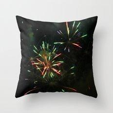 ~Firework Madness~ Throw Pillow