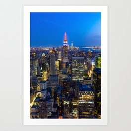 Manhattan - New York Art Print