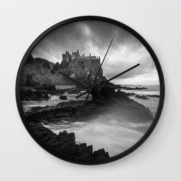 The Old Ruin Wall Clock
