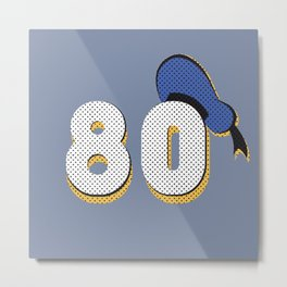 Donald Duck's 80th Metal Print