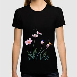 Cosmos and shrimp T-shirt