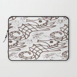 umber seahorse Laptop Sleeve