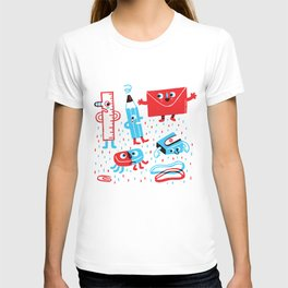 Stationery friends T-shirt
