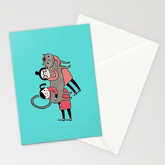It's always a good time to hug a cat Stationery Cards