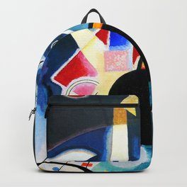 Wassily Kandinsky - A Center 1924 Backpack