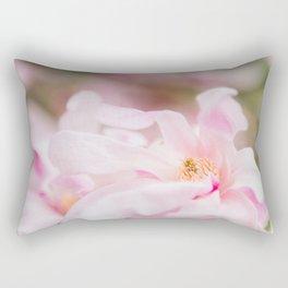 Magnolia In Blush Rectangular Pillow
