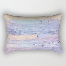 Colorful wood Rectangular Pillow