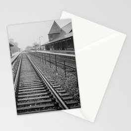 Winter Commute Stationery Cards