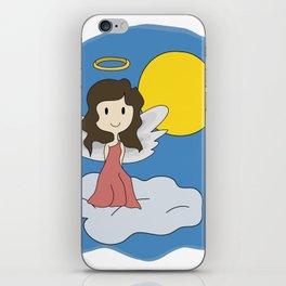 Guardian Angel - Mother figure - Heavenly iPhone Skin