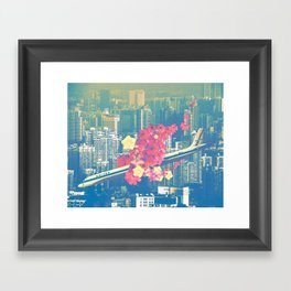 Las Ultimas Flores Framed Art Print