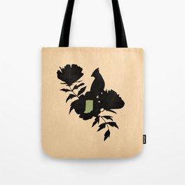 Indiana - State Papercut Print Tote Bag