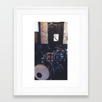 drums Framed Art Prints featuring Drums by Tanya Bhargava