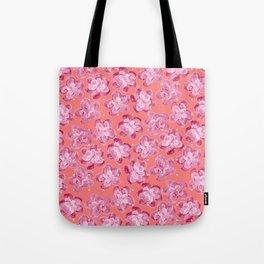 Wallflower - Rosette Tote Bag