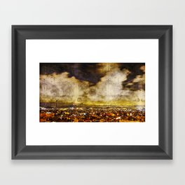 surveillance terrain acknowledgement yammer Framed Art Print