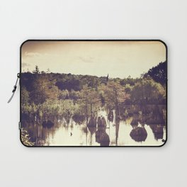 Dead Lakes With A Vintage Twist  Laptop Sleeve