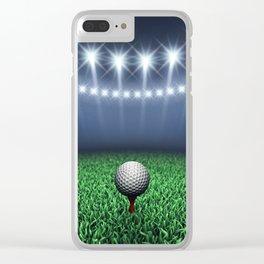 Golf Clear iPhone Case