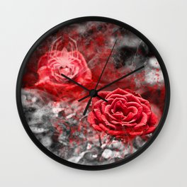 Gothic romance Wall Clock