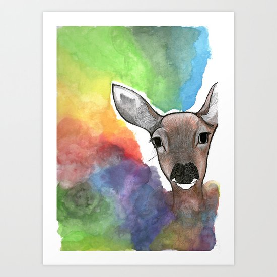 Deer Dream Art Print