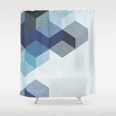 CUBE 4 SKY Shower Curtain