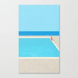 Canicule 5 Canvas Print