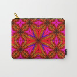orange pink purple gold pattern Carry-All Pouch