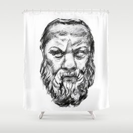 Socrates Shower Curtain