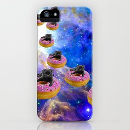 Pug Invasion iPhone Case