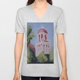 Stanford Clocktower Unisex V-Neck