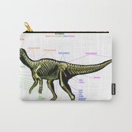 Eoraptor Skeleton Study Carry-All Pouch