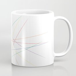 Rainbow Pick Up Sticks Coffee Mug