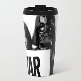 Darth Vader with Yoko Ono Travel Mug