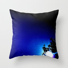 Stars in a day  Throw Pillow