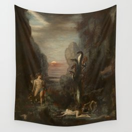 Gustave Moreau - Hercules and the Lernaean Hydra Wall Tapestry