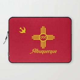 Flag of Albuquerque Laptop Sleeve