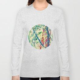 An Homage to Pollock Long Sleeve T-shirt