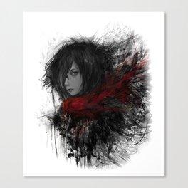 Shingeki no Kyojin Mikasa Ackerman Canvas Print