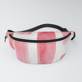 Red  Watercolour Patterns   190130 Abstract Art Watercolour Fanny Pack