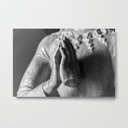Broken Prayer Metal Print