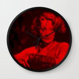 Marlene Dietrich - Celebrity (Photographic Art) Wall Clock